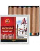 Pastel pencils sets