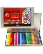 Spalvotų pieštukų rinkiniai