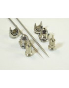 Spare parts for airbrushes