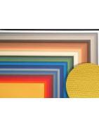 Spalvotas popierius 50x65 cm, 160 gr/m2 su faktūra