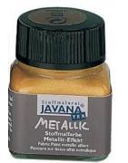 Javana tekstiliniai dažai Textil Metallic 20 ml