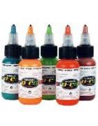 Dažai aerografijai Pro color 30 ml, fluorescentiniai