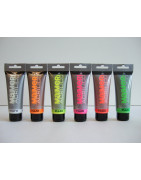 Fluorescent / neon paints Maimeri 75ml / 200ml