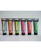 Fluorescentiniai / fosforiniai dažai Maimeri 75ml / 200 ml
