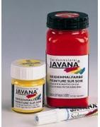 Javana šilko dažai ir priedai