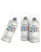 Akriliniai aerozoliniai dažai HOBBY ACRYL GHIANT 150ml
