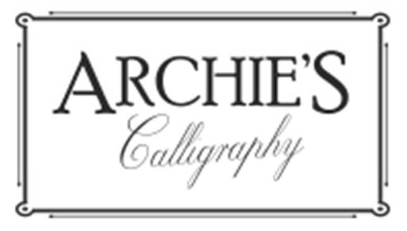 Archie's Calligraphy